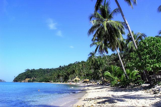 Военный пляж в Паттайе или пляж Сай Кео