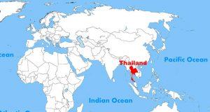 Где находится Таиланд?